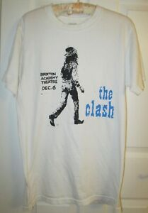 Pre-owned The Clash T-Shirt From Early 1980's (U.K. Gig) Design