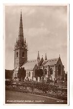 Bodelwyddan Marble Church - Real Photo Postcard 1944