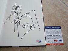 Ace Frehley Kiss No Regrets Signed Autographed Book PSA Certified #2