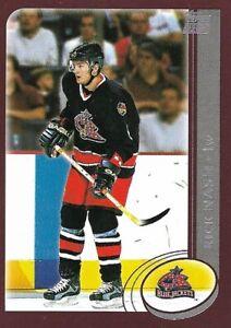Rick Nash Columbus Blue Jackets 2003 Topps Rookie Hockey Card