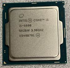 Intel Core i5-6600 SR2BW 3.30GHZ CPU Processor