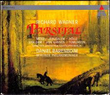 WAGNER: PARSIFAL Siegfried JERUSALEM Waltraud MEIER Van DAM TOMLINSON BARENBOIM