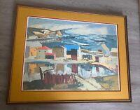 Henri Masson Vintage Painting