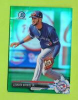 2017 Bowman Draft Chrome Green Refractor  Lourdes Gurriel Jr (BDC-19)  Blue Jays