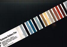 1982 Chevy COLOR CHART Paint Sample Brochure,Vinyl Top: IMPALA,MONTE CARLO,VETTE