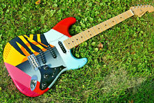 Crash 3 Eric Clapton Fender Stratocaster Guitar Strat USA American vintage desig