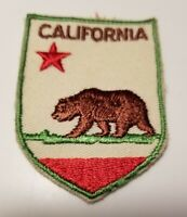 Vintage 1972 CALIFORNIA STATE SHIELD STYLE SOUVENIR PATCH