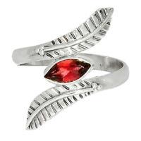 Garnet - Madagascar 925 Sterling Silver Ring XGB Jewelry s.9 BR47695 227I