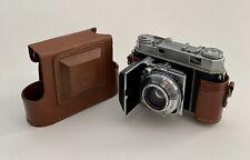 Vintage Kodak Retina Iia 35mm Folding Camera And Leather Field Case Germany
