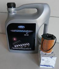 Original Ford Formula F 5W-30 Motoröl 5 Liter 155D3A 14E9EC + Ölfilter 1359941