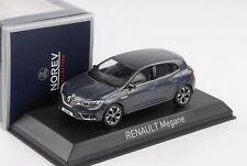 Renault Megane 2016 titanium grey 1:43 Norev 517768 diecast