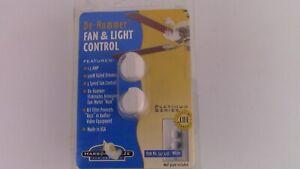 Harbor Breeze White De-Hummer Fan & Light Control 1.5 Amp 300 Watt 541-411L