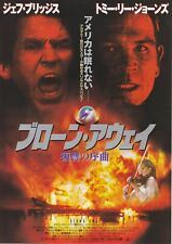 BLOWN AWAY:Jeff Bridges- Japanese  Mini Poster Chirash A