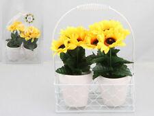 Unbranded Sunflower Plastic Flowers & Floral Décor