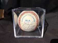 1991 MLB American League All Star Team Signed Ball 17 Signatures Puckett Clemens
