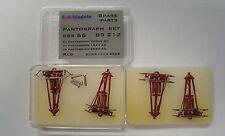LS Models 89212 Set 4x Patograph SBS66 für DB BR184 AC/DC rot FineScale Neu+OVP
