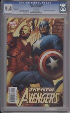 New Avengers #6 - Hitch Variant - Cgc 9.4 - 0801127009