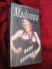RAW Madonna BARE ESSENTIALS Rare SEALED Videotape VHS Erotica Box Set Sex Promo