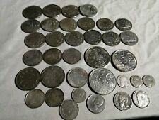 Belgique lot de pièces anciennes en argent massif (398 gr). Plusieurs très belle