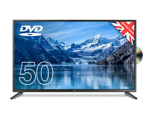 """CELLO 50"""" FULL HD LED TV WITH BUILT IN DVD PLAYER AND FREEVIEW HD, 2 x HDMI"""