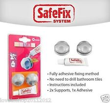 Metaltex Viva Adhesive Support To Avoid Drilling Holes In Your Wall - 404800