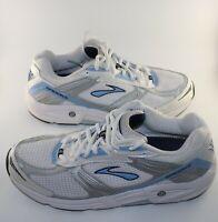 Brooks Addiction Mens Running walking shoes 42229141 us size 10 narrow  white