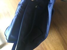 Royal Blue Leather Saddle Satchel Cross Body Coach Bag. Sold out. RRP £395