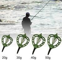 KQ_ Carp Fish Feeder Outdoor Fishing Trap Basket Feeder Bait Holder Cage Tackle
