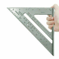 "New 7"" Aluminium Roofing Roofer Square Carpenters Combination square Steel squar"