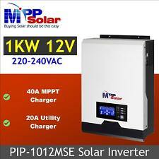 12v Solar inverter 1000w 230vac + 40A MPPT solar charger + battery charger 20A