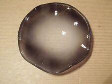 "4.5"" Black Glass Wavy Dish for Oil Warmer Tart Burner Scratch Dent"