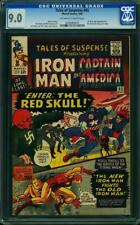 Tales Of Suspense # 65 US Marvel 1965 1st sa Red Skull CGC 9.0 VFN-Presque comme neuf
