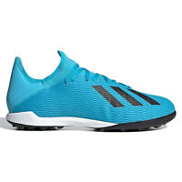 ADIDAS X 19.3 TF Mens Turf Soccer Cleats Shoes - Cyan Blue - Pick Size