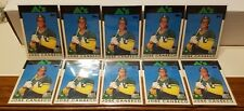 JOSE CANSECO 1986 TOPPS TRADED #20T  XRC 10 CARD ROOKIE LOT!