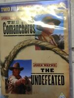 Comancheros + Invaincu DVD Coffret Classique John Wayne Western Double Bill