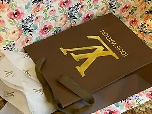 NEW Louis Vuitton Shopping Bag/Tissue Paper Combo