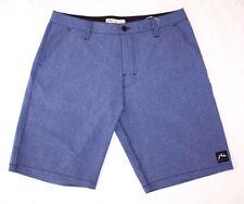 Rusty New Classic Men's Marle Hybrid Board Shorts Blue Size 32