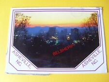 Ashville, NC, USA, Postcard