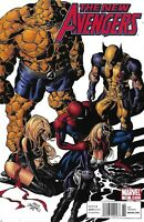 New Avengers Comic 13 Cover A First Print 2011 Brian Michael Bendis Deodato