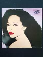 ANDY WARHOL -cover réalisé par Warhol pour vinyl 33T (LP) de DIANA ROSS 1982
