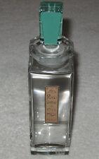 """Vintage Caron Baccarat Glass Perfume Bottle Pois de Senteur de Chez Moi 8"""" Ht #2"""