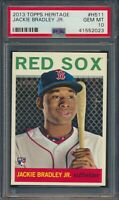 2013 Topps Heritage Jackie Bradley Jr. RC Boston Red Sox #H511 PSA 10 GEM MT
