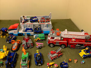 paw patrol toys used lot