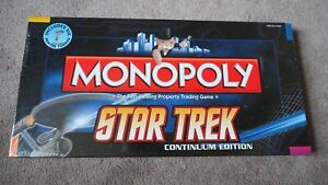 Monopoly - Star Trek Continuum Edition from 2009 - brand new, never opened