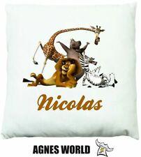 Personalised Madagascar Dabbing Cushion Pillow Gift Birthday Present Custom