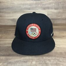 2012 Nike Olympic Team USA Hat Snapback Cap Obsidian Navy Blue UNISEX OSFA BNWT