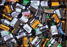 Lot of50 Empty Assorted 35mm film canisters/cassettes/cartridges Fuji, Kodak