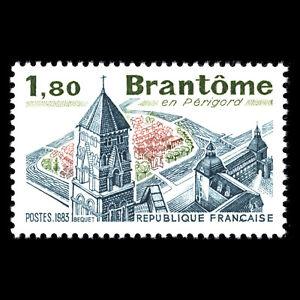 France 1983 - Tourist Publicity - Brantôme, Périgord Architecture - Sc 1854 MNH