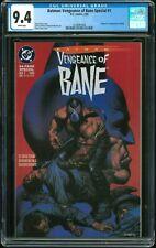 Batman Vengeance of Bane 1 - CGC 9.4 (1st Print - First Appearance of Bane)