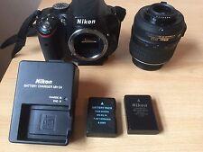 Nikon D D5100 16.2MP Fotocamera Reflex Digitale-Nero (Kit con Obiettivo 18-55mm VR